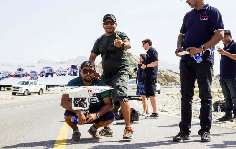 Microlise UK - MAN Trucks Action Films Oman